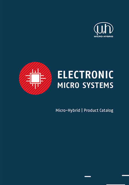 "Front view of the catalogue ""Electric Micro Systems"""